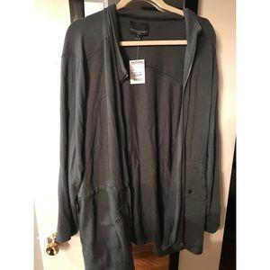 Cynthia Rowley plus size cotton jacket